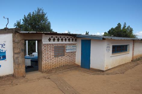 Vingård i Madagaskar.