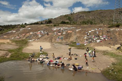 Madagaskar Rituell och Kommersiell tvätt