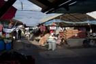 Marknaden i Sibiu, Rumänien.