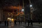 Saltgruvan i Praid, Rumänien.