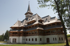Vid klostret Peri, Maramures, Rumänien.
