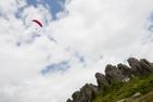 Hängflygning över Tuppkammen i Maramures.