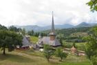 Nunneklostret i Botiza, Maramures, Rumänien.